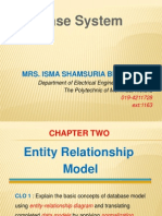 Chapter 2-Entity Relationship Model
