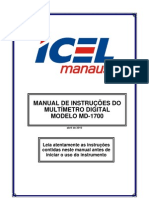 MD-1700 Manual