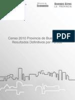 Censo 2010 Provincia de Buenos Aires