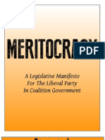 Meritocracy Manifesto