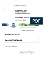 Paper Mediarecht 2012-2013