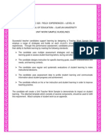 unit work sample template - educ 323