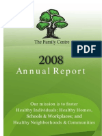 The Family Centre Annual Report 2007 2008