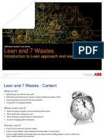 Add Notes - Lean and 7 Wastes