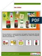 Agro Products By Red Ox Industries Ltd