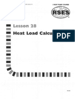 Heat Pump 28 Heat Load Calculations