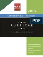 Caso Rusticae - Direccion de Marketing