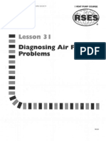 Heat Pump 31 Diagnosing Air Flow Problems