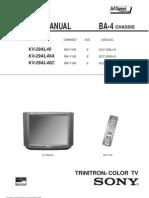 Sony Kv 29al40 Ba 4