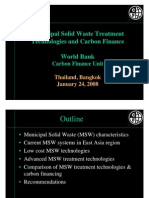 MSW Treatment Technologies