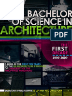 UP Min BS Architecture Souvenir Program