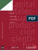 producción cientifica madrid