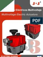 actuadores multivoltaje