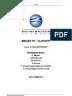 Course Last 20092010, théorie d'élasticité