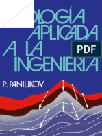 Paniukov, P. - Geologia Aplicada a La Ingenieria