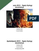 Apokalipszis 2012-Egely György tanulmánya