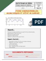 Specifications Dimensionnelles Geometriques