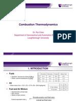 2.Combustion Thermodynamics