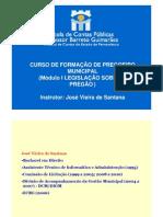 Curso Pregoeiro Municipal Nov 2011