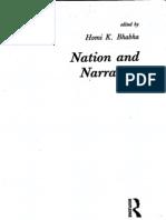 DissemiNation - Nation and Narration - Homi K. Bhabha