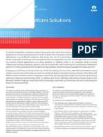 Enterprise Solutions Brochure Microsoft Platform Solutions Services 0712 1