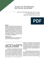 tecnologias da informação impactos na sociedade Lima e Marconi