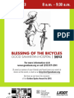 Blessing of the Bicycles 2013