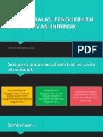 Psikologi Sukan (maklum balas, pengukuhan dan motivasi intrinsik?