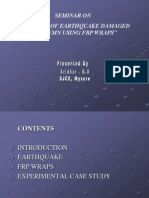 FRP FOR EARTHQUAKE DAMAGED STRUCTURES