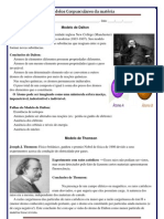 Cursinho - Química - Teorias Atômicas - Dalton - Thomson - Rutherford -Bohr - Sommerfeld