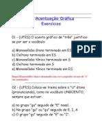 Acentuação Gráfica-exercícios1