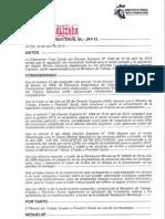 RM 261-13 Incremento Salarial 2013