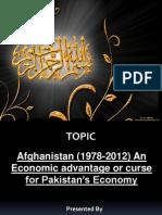 Pak Afghanistan Relationship Slides
