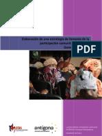 INFORME Consultoria Para La Elaboracion de Una Estrategia de Fomento de La Participacion Comunitaria en Salud