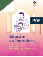 Educam Cu Incredere Educatie Copii Parinti