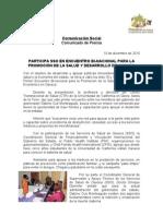 10/12/10 Germán Tenorio Vasconcelos Participa SSO en el encuentro Bi-nacional para la promocion de la salud y desarro_0.doc