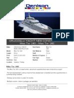 54M Orucoglu Yacht & Marine Construction 2014 Miss Tor 180
