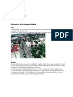 Urbanismo Elementos de La Imagen Urbana (Gloria Ruiz)