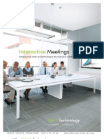 Integrated Interactive Meeting Systems