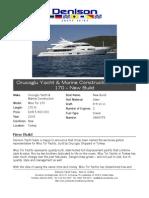 170' Orucoglu Yacht & Marine Construction 2009 Miss Tor 170