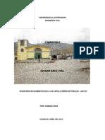 Universidad Alas Peruanas ( Inventario Vial)