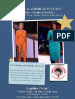 Teaser 1 Women and American Politics Online Summer 2013