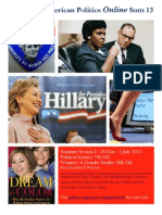 Teaser II Women and American Politics Online Summer 2013
