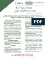 Implementacion Sistema Oshas 18001