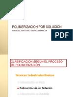 Polimerizacion Por Solucion