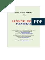 Le Nouvel Esprit Scientifique, Gaston Bachelard