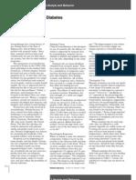 Aromathery and Diabetes