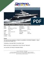149' RMK - Long Range Motor Yacht - Karia 2012