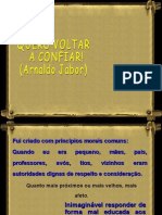 QUERO VOLTAR A CONFIAR (Arnaldo Jabor)