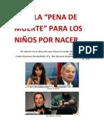 """NO A LA """"PENA DE MUERTE"""" PARA LOS NIÑOS POR NACER.docx"""